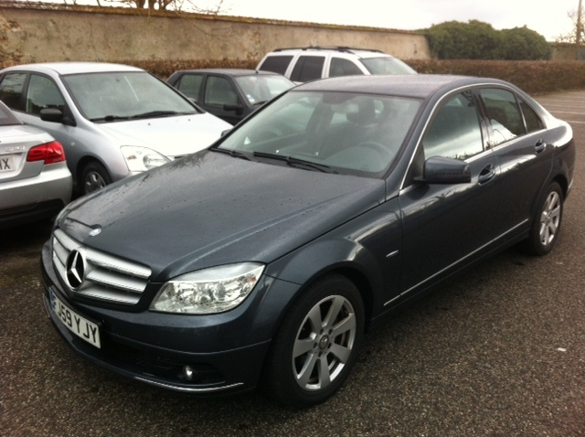 Left hand drive MERCEDES C CLASS C200 CDI AVANTGARDE